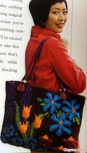 *Жаккардовые сумки спицами. Идеи (2). - Жаккард - Страна Мам