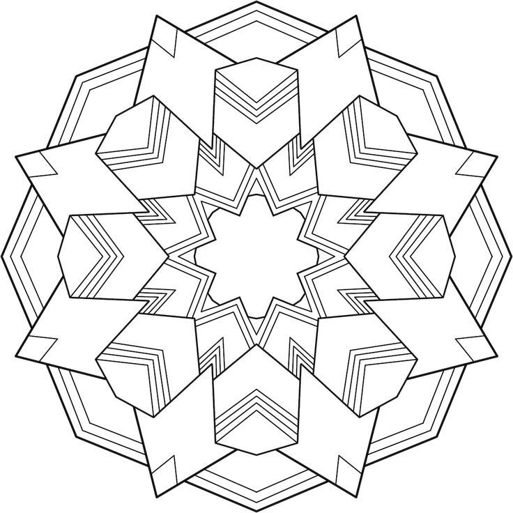 168 best printable mandalas to color free images on pinterest - Pics To Color