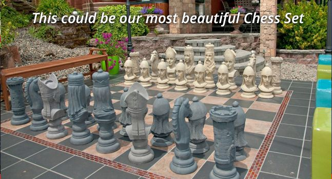 MegaChess | Large, Life Sized Chess Sets, Checkers, Chess Boards