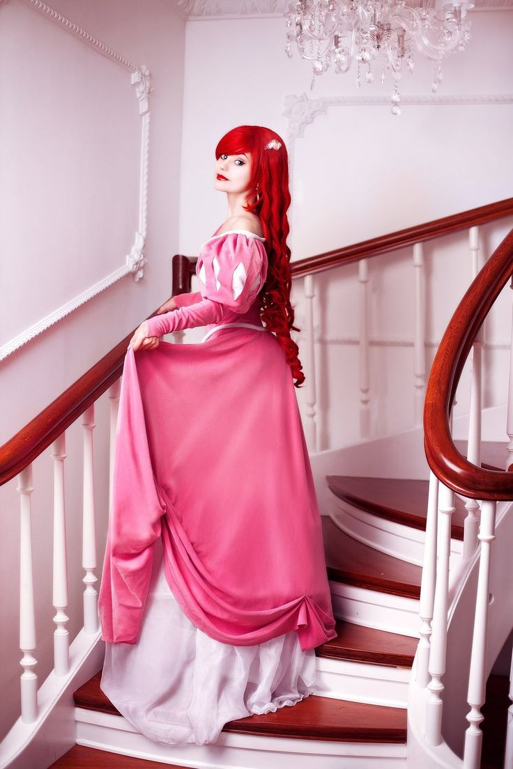 Beautiful Little Mermaid cosplay. - 10 Ariel Pink Dress Cosplays