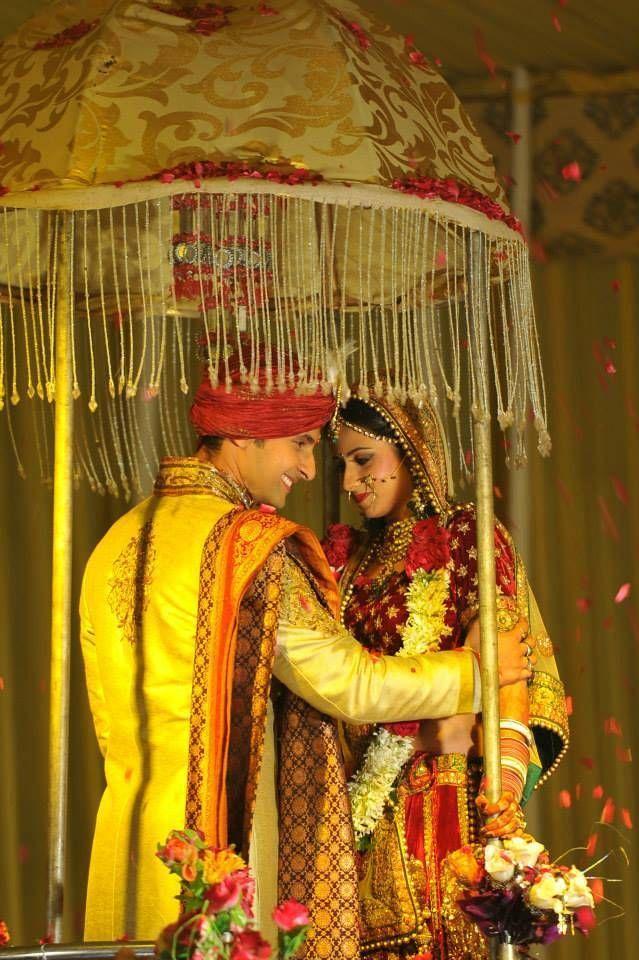 Sargun Mehta and Ravi Dubey Wedding Stills