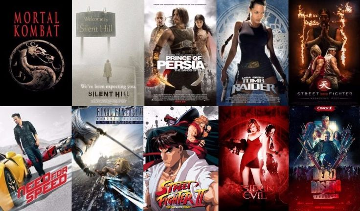 Here's my Top 10 best Movie based Video Games: 1. Mortal Kombat 2. Silent Hill 3. Prince of Persia: The Sands of Time 4. Lara Croft: Tomb Raider 5. Street Fighter: Assassin's Fist 6. Need for Speed 7. Final Fantasy VII: Advent Children 8. Street Fighter II: The Animated Movie 9. Resident Evil 10. Dead Rising: Endgame