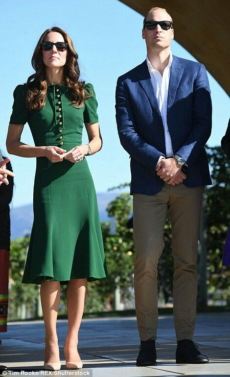 Catherine Duchess of Cambridge and William Duke of Cambridge at a food and wine tasting festival in British Columbia. September 27 2016