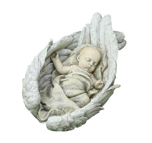 Napco Large Winged Sleeping Baby Statue, 20-Inch Long by Napco. $82.60. Save 15%!