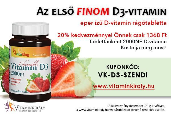 A D vitamin adagolása