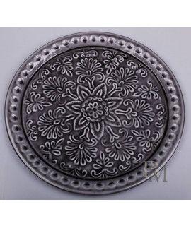 Talerz metalowy Black 35 cm D