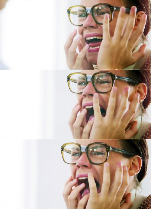 Me watching The you and I commercial.