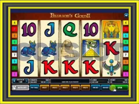 Видео обзор игрового автомата Pharaohs gold