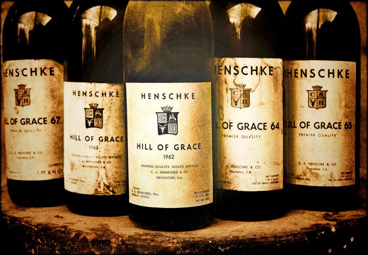 Hill of Grace labels from the 1960s. #Barossa #Wine
