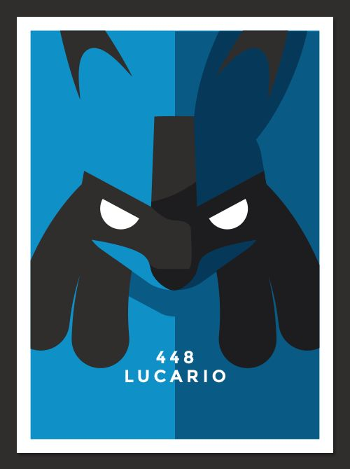 Mega Lucario by blueryuk on DeviantArt