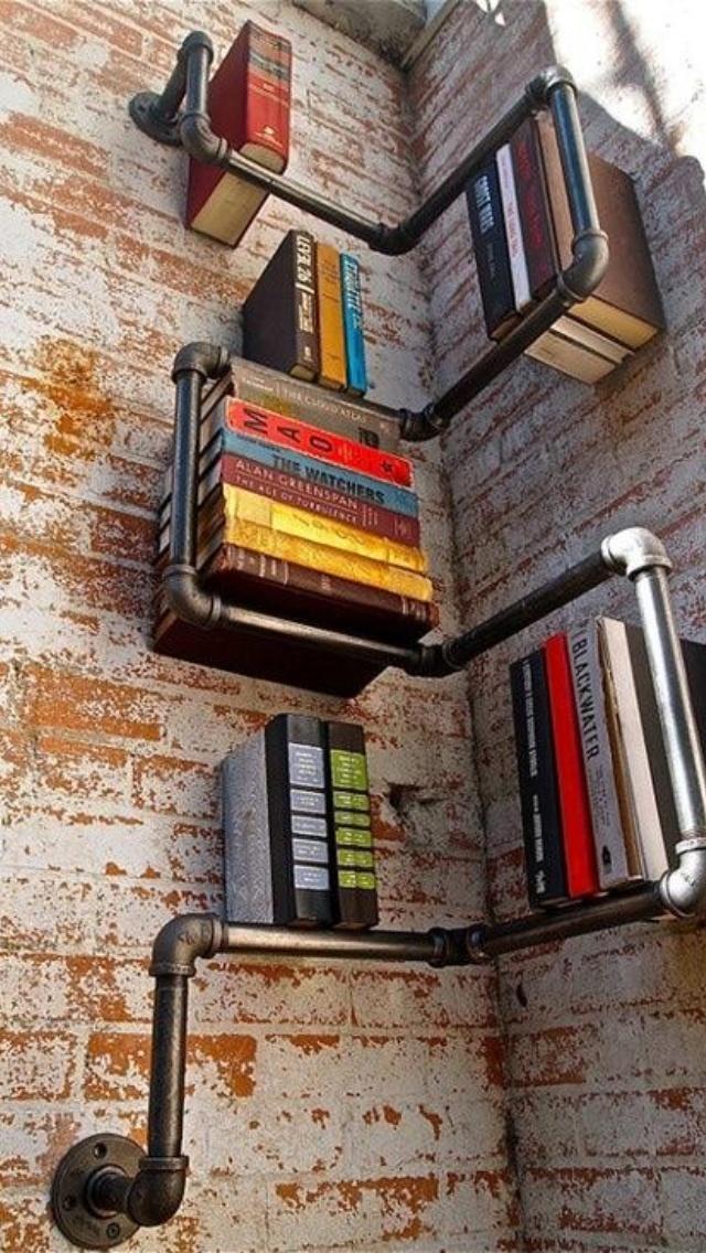 Hylder til bøger og lignende