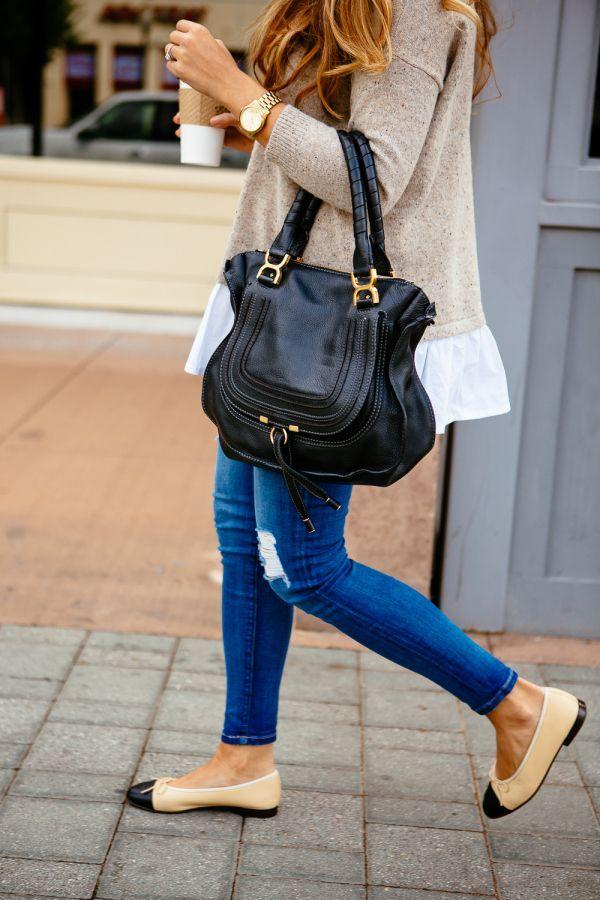 Der geschichtete Pullover – #der #geschichtete #Pullover #style – Nina