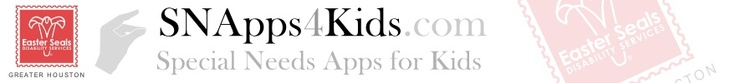 Special Needs Apps for Kids--great reviews of iphone/ipad apps as well as support and community outreach for families of kids with special needs!