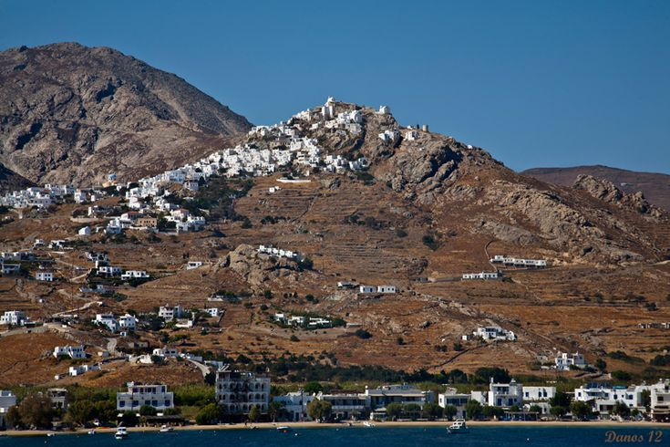 Serifos on the hill. - Serifos, Kyklades