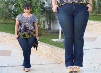 Jeans plus size: calça com tecnologia Power!
