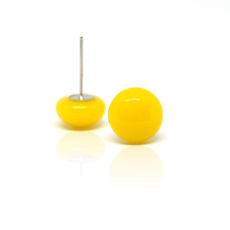 Simple #citrom #ékszer #jewerly #yellow #jewelry #nyiriandrea #fülbevaló #earrings