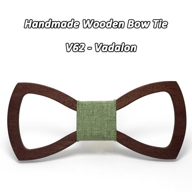 Mahoosive Wood Bow tie men Groom Marry Groomsmen Wedding Party Colorful Engraved Butterfly Cravats Mens wooden bow tie
