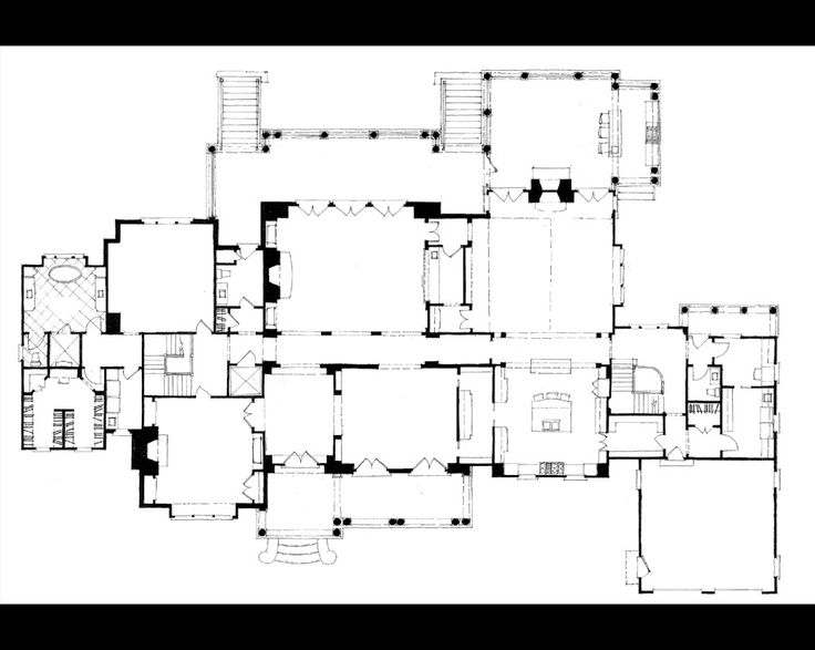 Classic American Estate Drawings Http://www.stephenfuller.com/classic  · Architectural  Floor ...