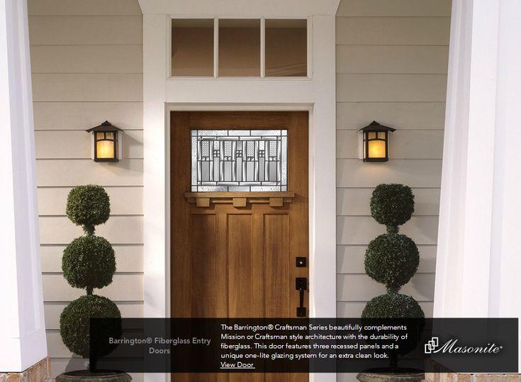 Barrington Doors Craftsman Craftsman Front Door