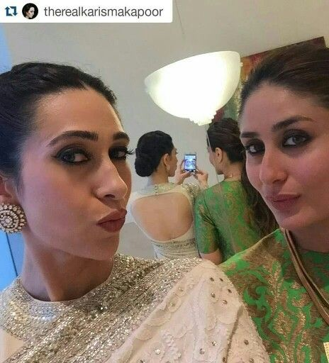Love karishma's saree and blouse