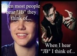 Exactly. The only one who is talented. If his piano playing isn't talent enough in a metal band, the head-banging while playing keyboards is! Joshua Balz