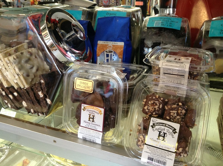 Almond bark, toffee & honeymoons from Queen Bee Gardens in Wyoming will satisfy any chocolate lover's craving!