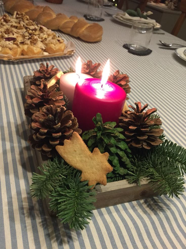 Centrotavola Natale diy