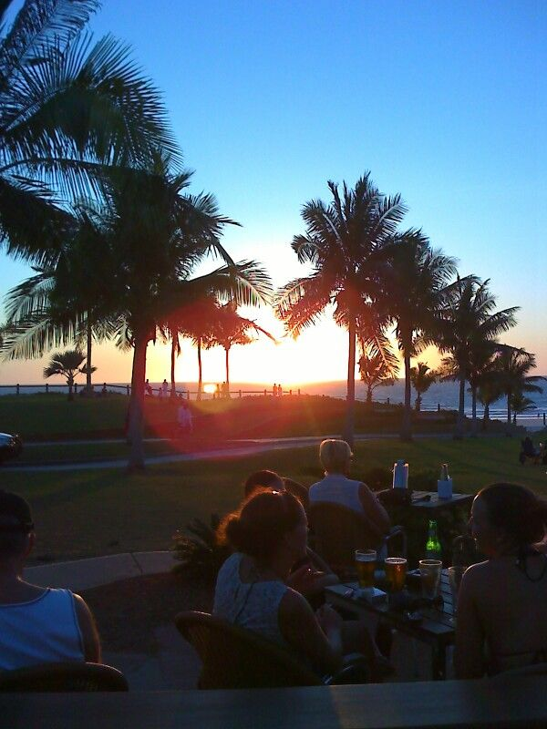 Sunset at cable beach broome