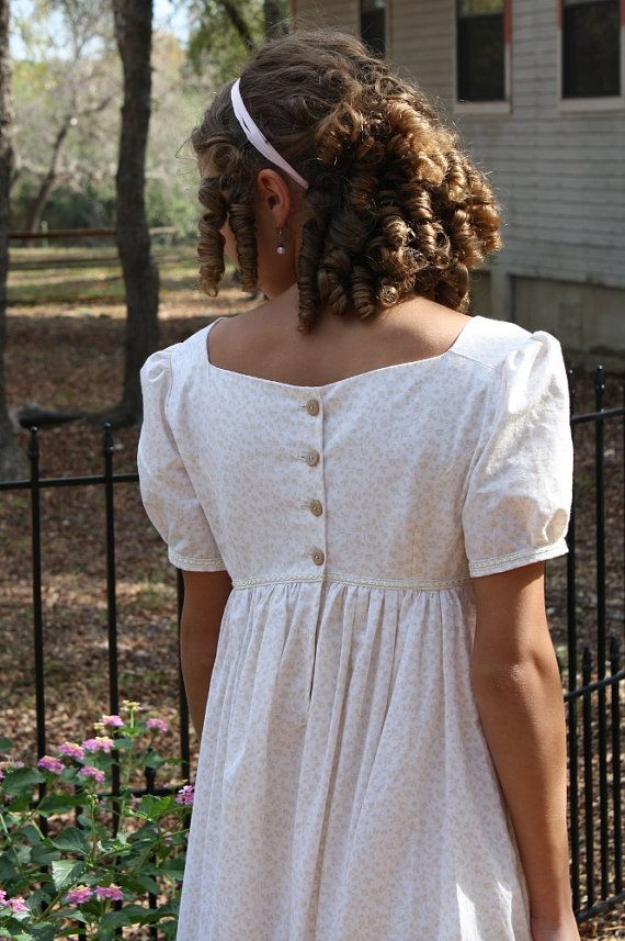 Regency Gown Jane Austen Dress  Ready to Ship  by SewManyTreasures, $115.00   lovely