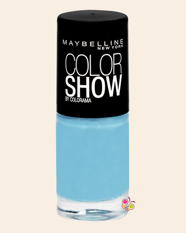 MAYBELLINE Color Show Oje 651 Cool Blue Açık Mavi
