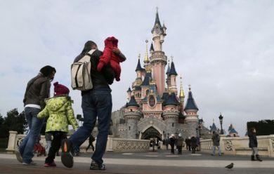 Le parc d'attractions Disneyland Paris
