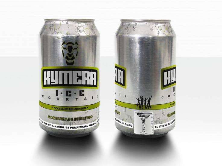 Kymera, presentación bebida en lata.