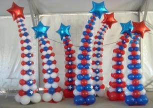 balloon columns | Copenhagen Balloons and Promotions
