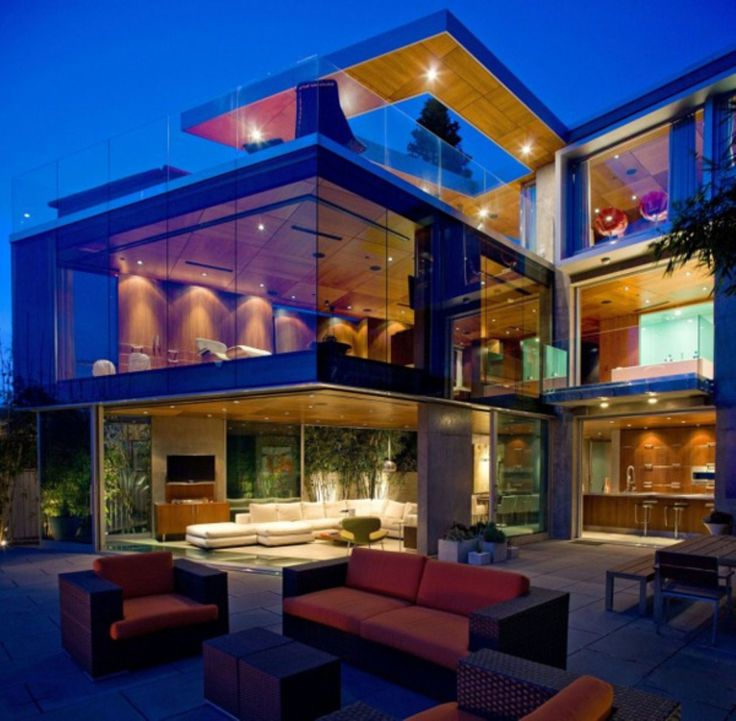 Ultra Modern Luxury Homes 25 amazing modern glass house design | villa design, exterior and