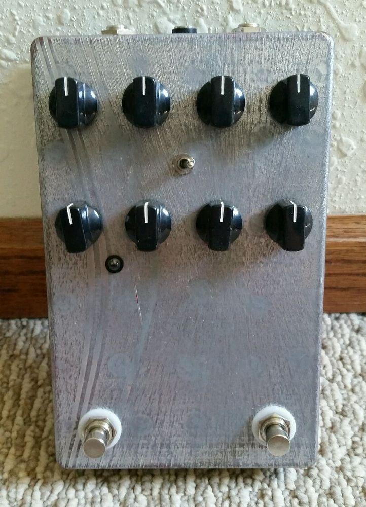 Dunn Effects Redeemer 5150 preamp / distortion metal rock de1984 bandit 6505 mxr #Peavey