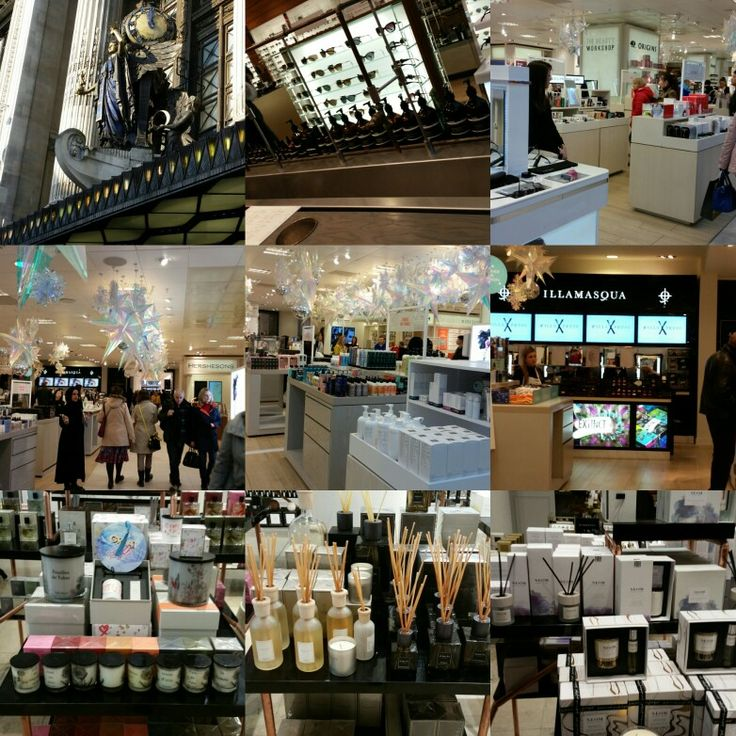 Seriously beauting out in Selfridges beauty hall.