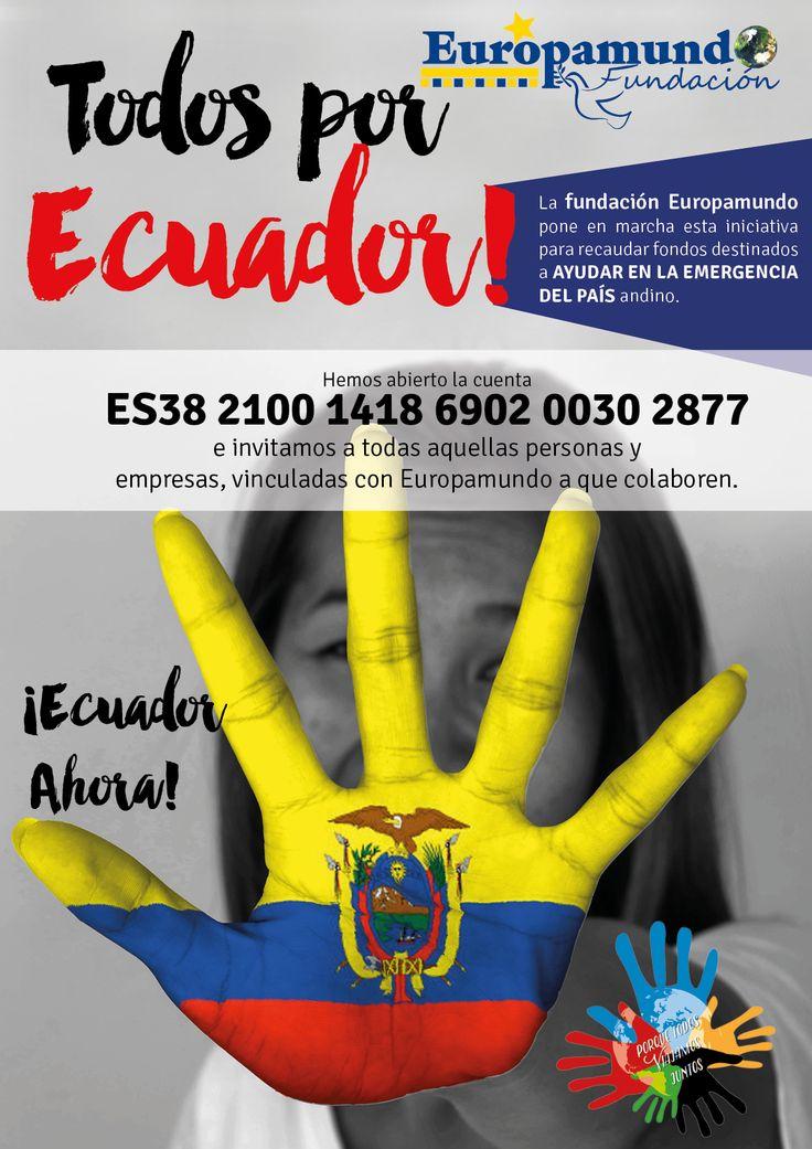 ¡Ayudemos a Ecuador!  Nuestra alma es latina y todos somos #Ecuador ¡¡Ayúdanos a ayudar!!  http://europamundoblog.com/2016/04/25/ayudemos-a-ecuador/