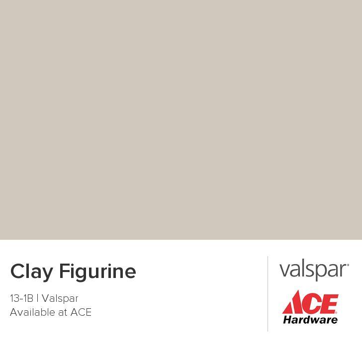 Clay Figurine from Valspar