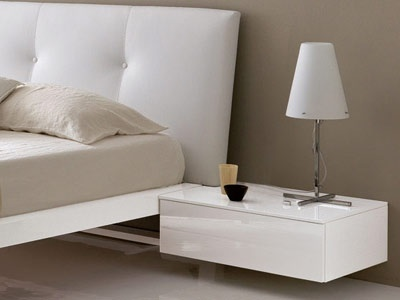 Tai Suspended Bedside Table 51hx65wx50d