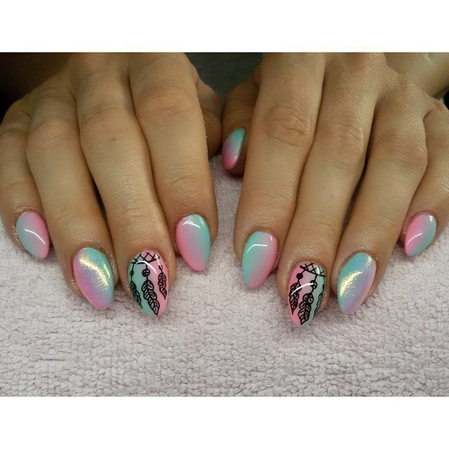 Łapacz snów :) #semilac #diamondcosmetics #ilovesemilac #nailart #nails #hybryda…