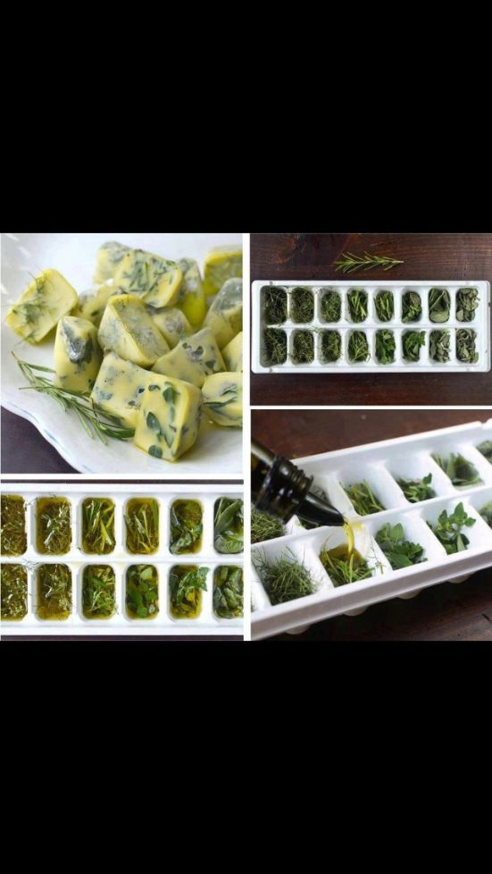 Clever idea for fresh herbs