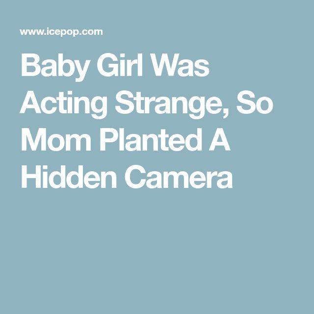 Baby Girl Was Acting Strange, So Mom Planted A Hidden Camera