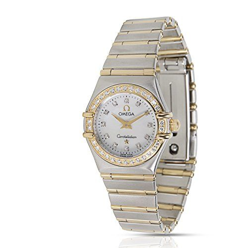 Omega Constellation swiss-quartz womens Watch (Certified Pre-owned) 1267.75.00 *...