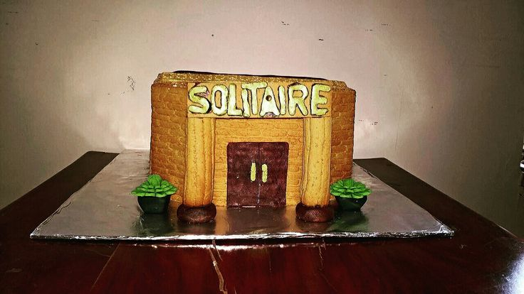 Library cake!