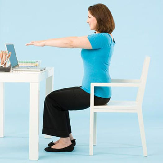 20 best Exercises You Can Do At Your Desk images on