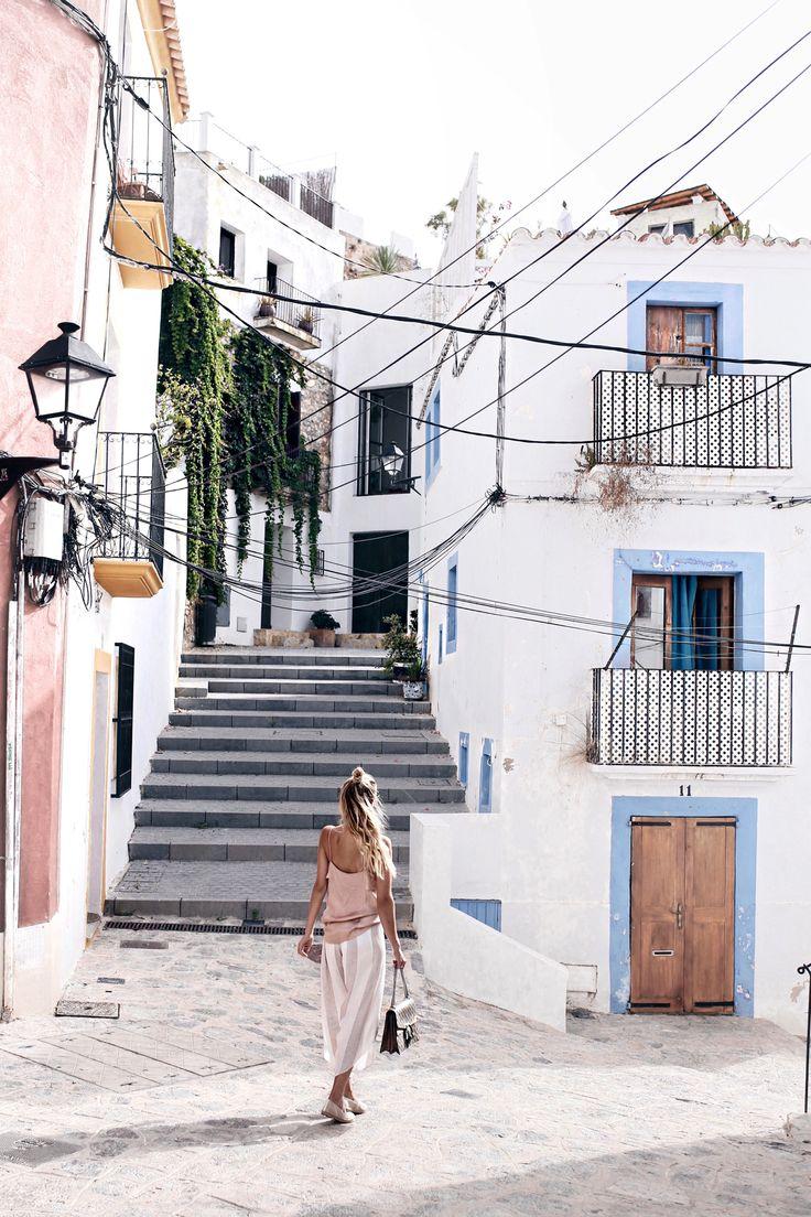 Strolling through Dalt Villa, Ibiza: http://www.ohhcouture.com/2016/07/monday-update-29/   #ohhcouture #leoniehanne #ohhIbiza