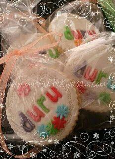 Çocuklar için butik kurabiye