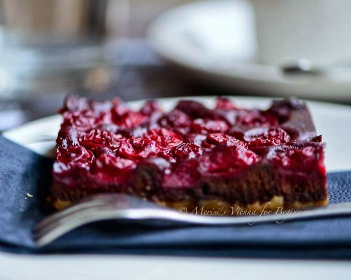 Cherry on Top Most delicious vegan delight at Ströck Feierabend Bakery  © Merisi's Vienna for Beginners All Rights reserved http://www.viennaforbeginners.com/