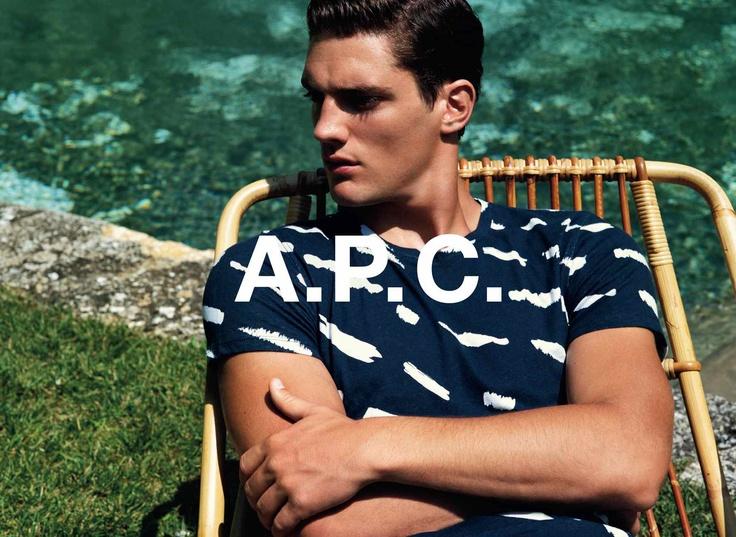A.P.C. summer 2013 collection. Thibault Oberlin shot by Alasdair Mclellan.