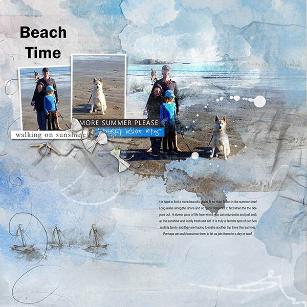Beach Time Tofino is a favourite spot for everyone in our family especially our son's family!   I used Anna Aspnes Designs -  APP_Meadow ** NEW On Sale 9th June Artsy Layered Template No 251 ** NEW On Sale 9th June* Boats No. 1 Brushes https://www.oscraps.com/shop/Boats-No.-1.html